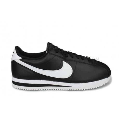 Nike Cortez Basic Leather Noir