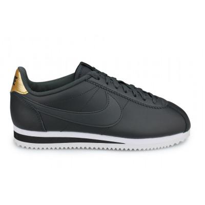 Wmns Nike Classic Cortez Leather Noir