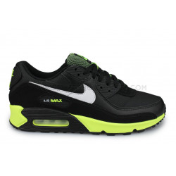 Nike Air Max 90 Noir ''Hot Lime''