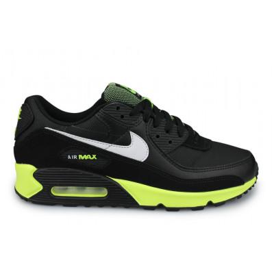 Nike Air Max 90 Noir ''Hot Lime''