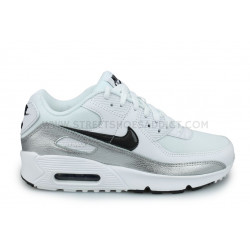 Nike Air Max 90 Junior Blanc