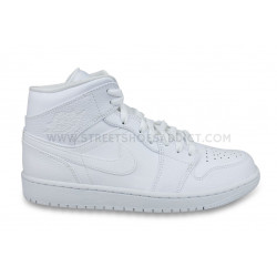 Nike Air Jordan 1 Mid Blanc