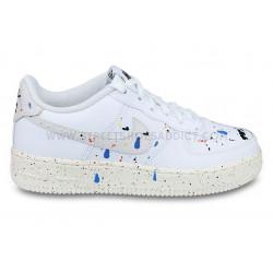Nike Air Force 1 LV8 3 Junior 'Paint Splatter' Blanc