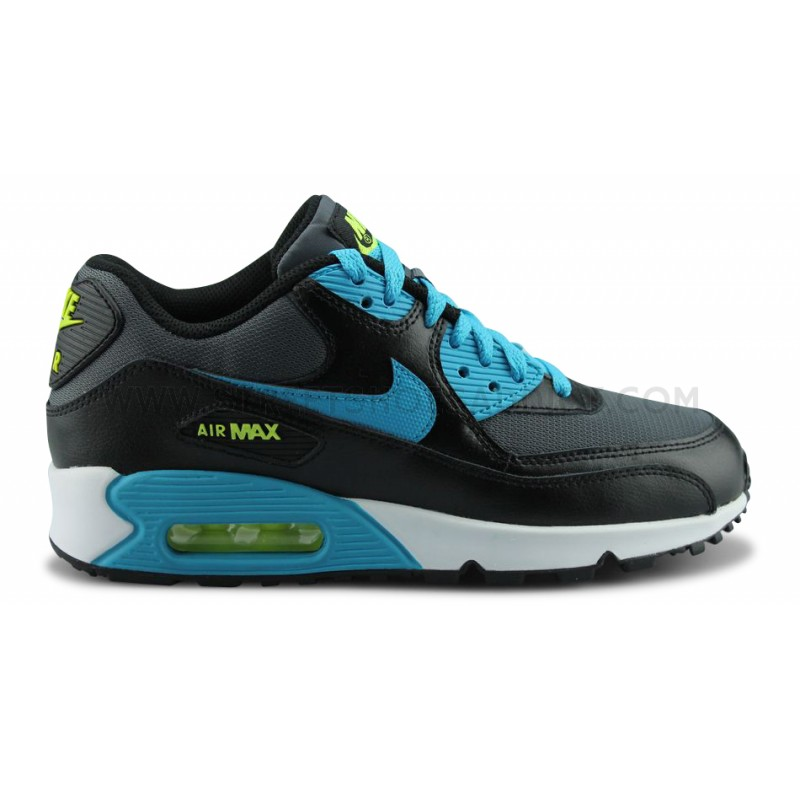 black nike air max 90 junior
