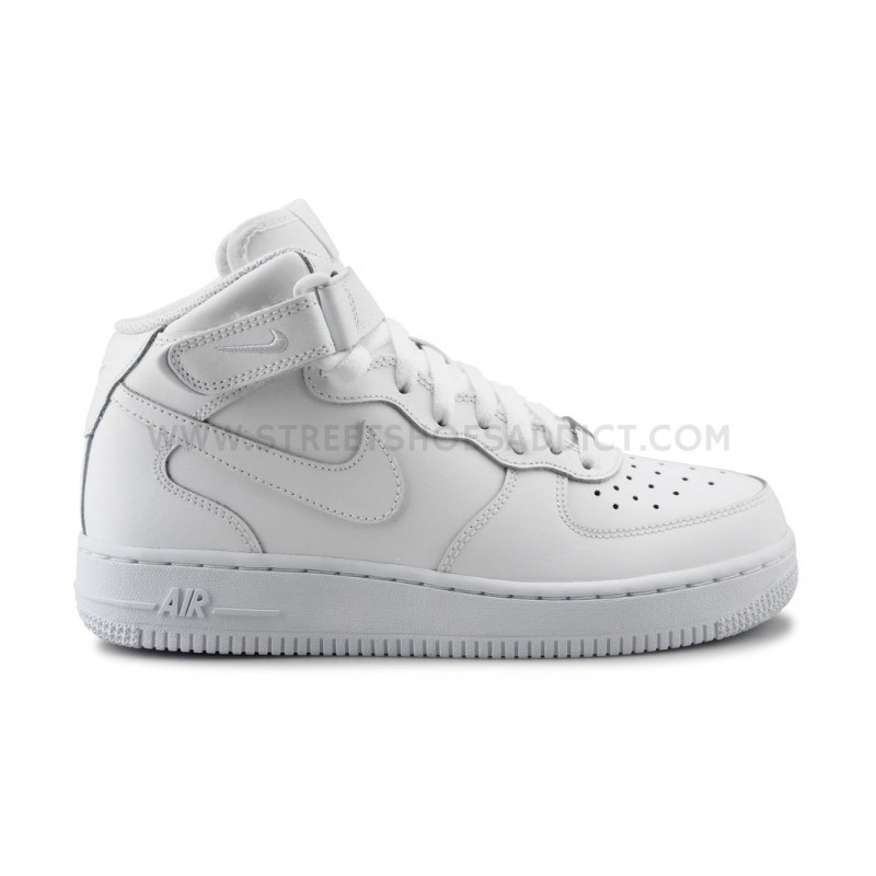 ... AIR FORCE 1 MID JUNIOR BLANC. Reduced price! NIKE ...